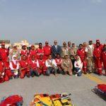 بحث وإنقاذ القوات المسلحة المصرية ينفذ تجربة لمحاكاة إنقاذ عبارة غارقة