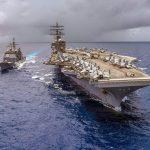 أمريكا تتوعد بإسقاط أي طائرة مسيرة إيرانية تقترب من سفنها
