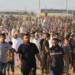 استشهاد 6 فلسطينيين وإصابة العشرات برصاص الاحتلال على حدود غزة