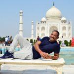 صور| ويل سميث يزور قصر تاج محل الشهير بالهند
