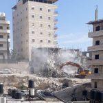 الاحتلال يهدم بناية سكنية في القدس المحتلة
