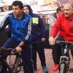 وزير الشباب والرياضة المصري يشارك في ماراثون الأهلي وحملة مناهضة للتنمر