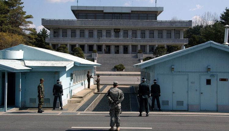 forces - The Two Koreas Continue To Withdraw Their Forces From The Common Front Lines 1024px-070401_Panmunjeom3-750x430
