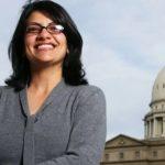 رشيدة طليب أول فلسطينية مسلمة في الكونجرس الأمريكي