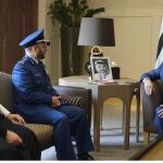 العاهل الأردني يستقبل قائد الجيش السعودي