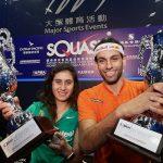 لاعبو مصر يحققون تقدمافي بطولة هونج كونج المفتوحة للإسكواش