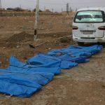 استخراج 500 جثة من مقبرة جماعية بالرقة