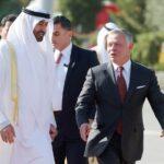 ولي عهد أبو ظبي والعاهل الأردني يؤكدان دعم جهود استقرار المنطقة