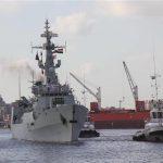 القوات البحرية المصرية والإسبانية تنفذان تدريب بحرى عابر بالبحر المتوسط