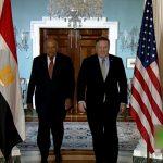 4 ملفات رئيسية في مباحثات «شكري - بومبيو» بالقاهرة