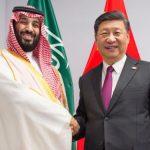 ولي العهد السعودي يلتقي الرئيس الصيني في قمة العشرين