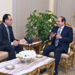 السيسي يشدد على الالتزام بمواعيد تسليم المشروعات القومية في مصر