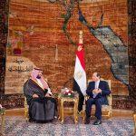 السيسي: أمن السعودية واستقرارها جزء لا يتجزأ من الأمن القومي المصري