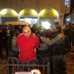 الاحتلال يعتقل عددا من المتظاهرين في القدس