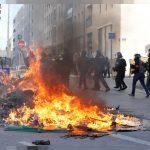 تأجيل مباراة سانت إيتيين ومرسيليا بسبب احتجاجات فرنسا