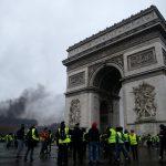 اعتقال أكثر من 200 فرنسي خلال احتجاجات باريس