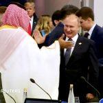 أول تعليق من الكرملين على المصافحة الحارة بين بوتين ومحمد بن سلمان