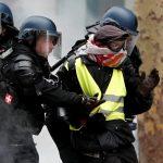 ارتفاع عدد المعتقلين إلى 1723 شخصا خلال مظاهرات «السترات الصفراء»