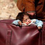 مأساة النازحين السوريين.. الوطن داخل حقيبة!!