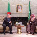 ولي عهد السعودية يغادر الجزائر بعد زيارة رسمية