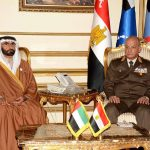 وزير الدفاع المصري يلتقى وزير الدولة لشئون الدفاع الإماراتي