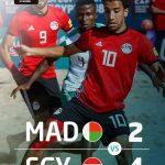 منتخب مصر للكرة الشاطئية يفوز على مدغشقر ويصعد للدور نصف النهائي لبطولة أفريقيا