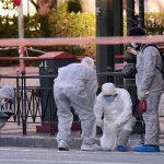 إصابة شرطي في انفجار عبوة ناسفة بوسط أثينا