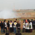 33 مصابا جراء قمع الاحتلال الإسرائيلي مسيرات العودة على حدود غزة