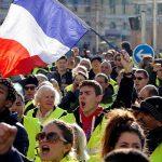 أنصار السترات الصفراء يواصلون التظاهر للأسبوع الثالث والعشرين
