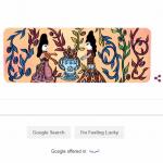جوجل يحتفل بذكرى ميلاد الفنانة التشكيلية باية محي الدين الـ87