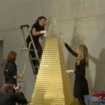 فيديو  ألمانيا تصنع أغلى شجرة كريسماس بالعالم