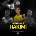 المغربي أشرف حكيمي يتوج بجائزة أفضل لاعب صاعد في الدوري الألماني