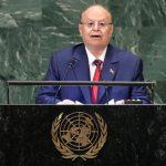رئيس اليمن ينتقد المبعوث الخاص في رسالة للأمين العام للأمم المتحدة