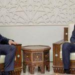 فيديو  مراسلة الغد ترصد تفاصيل لقاء الأسد مع فالح الفياض