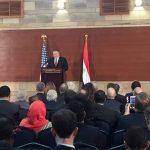 بومبيو من القاهرة: واشنطن تخطط لإقامة تحالف ضد مخاطر إيران