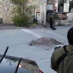 استشهاد فلسطيني برصاص الاحتلال بزعم تنفيذه عملية طعن في الخليل