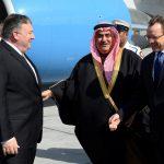 وزير الخارجية الأمريكي يصل المنامة ويجتمع مع ملك البحرين