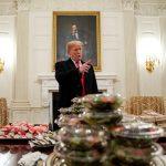 ماكدونالدز وبرجر كينج.. ترامب يقيم مأدبه فريدة من نوعها بالبيت الأبيض