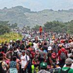قافلة مهاجرين جديدة تتشكل في هندوراس قبل انطلاقها إلى أمريكا