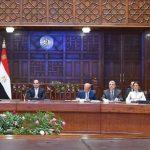 الرئيس المصري يتابع تنفيذ الخطط التنموية على مستوى الجمهورية
