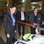 وزيرة السياحة المصرية تودع الفيتناميين ضحايا الحادث الإرهابي