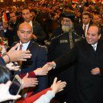مصر تحتفل بعيد الميلاد المجيد من أكبر كتدرائية في الشرق الأوسط
