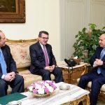 السيسي يلتقي مدير عام جهاز المخابرات القومي اليوناني