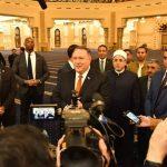 بومبيو يزور «مسجد الفتاح العليم» و «كاتدرائية ميلاد المسيح» في مصر