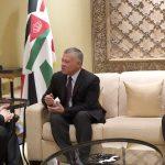 العاهل الأردني يبحث تطورات الشرق الأوسط مع وزير الخارجية الأمريكي