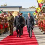 الرئيس السيسي يختتم زيارته للأردن