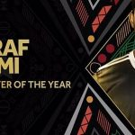 المغربي أشرف حكيمي أفضل لاعب صاعد في أفريقيا 2018