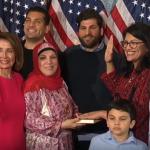 فلسطينيات يحتفين بارتداء رشيدة طليب للزي التقليدي داخل الكونجرس