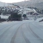 السلطات الأردنية تحذر من تساقط الثلوج