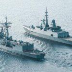 اختتام فعاليات التدريب البحري (الموج الأحمر 1) بالسعودية